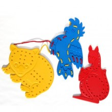 Lacing Animals (3pcs) (S5009(D)