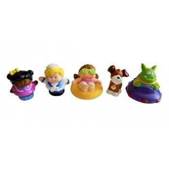 Little Tikes Baby Kids Bath Toys (Girl)(5pcs)