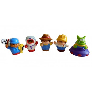 Little Tikes Baby Kids Bath Toys (Boy)(5pcs)