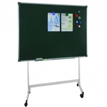Magnetic Green Chalk Board With Stand