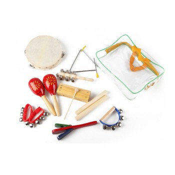 9 Pcs Percussion Set with Bag