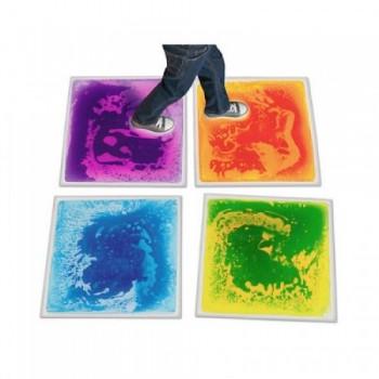 Liquid Sensorial Mat / Liquid Floor Tiles (Set of 6pcs)