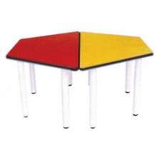Hexagonal Table ( 2 Trapezium Tables)