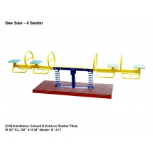 Seesaw - 4 Seater