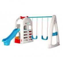 Lerado Playhouse Climber & Swing