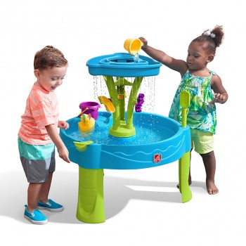 Step 2 Summer Shower Splash Tower Water Table