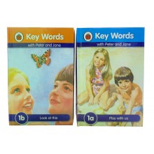 Ladybird Peter & Jane Books (Set a & Set b - 24 books)