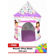 Ching Ching Princess Play House + 100 Play Balls