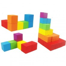 Wooden Cube Blocks