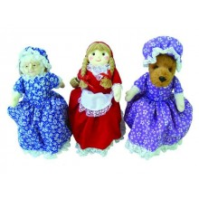 Red Riding Hood (3 in 1 Story-telling doll)