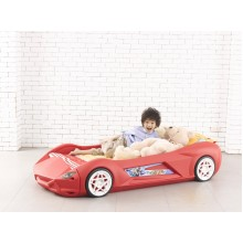 Ching Ching Sporty Car Bed Red