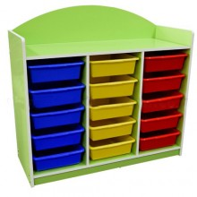 Economy 15 Trays Manipulative Storage Unit