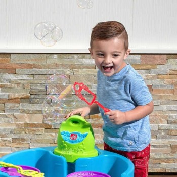 Step 2  Big Bubble Splash Water Table