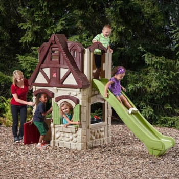 Step 2 2-Story Playhouse & Slide