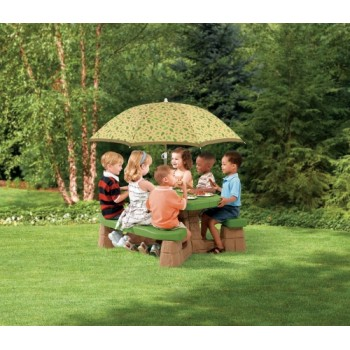 Step 2 Naturally Playful® Picnic Table with Umbrella