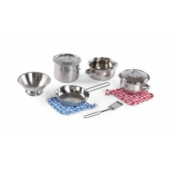 Step 2 Cooking Essentials™ 10-pc Stainless Steel Set (S2-803499)