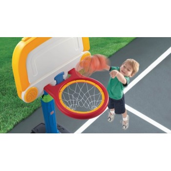 Step 2 Double Play™ Deluxe Basketball & Football Set
