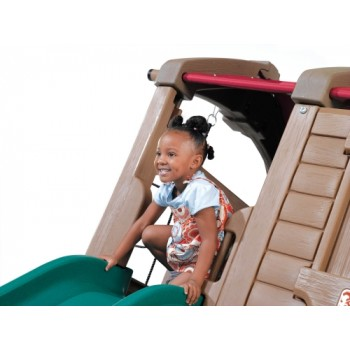 Step 2 Naturally Playful® Adventure Lodge Play Center with Glider