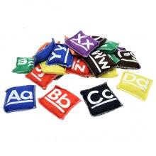 9cm Alphabet Bean Bags (26/ sets)
