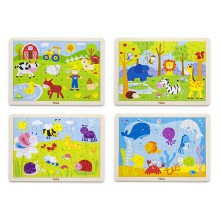 24 pcs Puzzle (Set of 4)