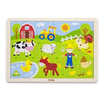 24 pcs Puzzle - Farm