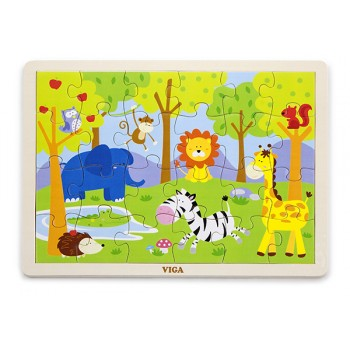 24 pcs Puzzle - Safari