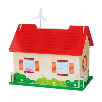 ECO Friendly Dollhouse wt Accessories