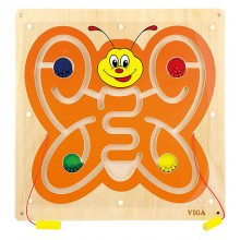 Wall Toy - Magnetic Bead Trace