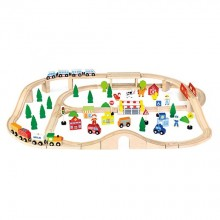 90pcs Train Set