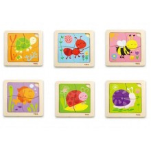 Handy Flat Puzzle (Set of 6)
