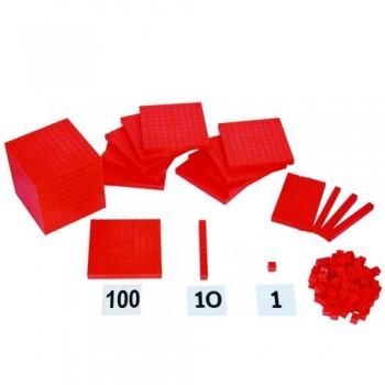Base Ten Block with Weight (130 pcs)