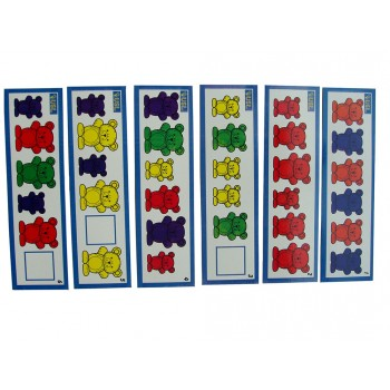 Activity Cards-Bear Counters(6pcs)