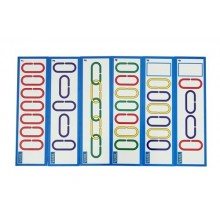 Activity Cards-Mini Counting Links (6 pcs)
