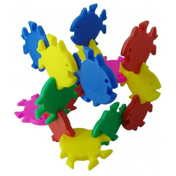 11cm Tropical Fish Blocks (+-30pcs)