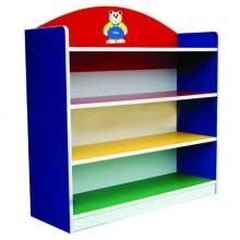 3 Level Multi-Coloured Storage Shelf