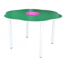 4' Flower Shaped Manipulatives Table (H: 76cm)