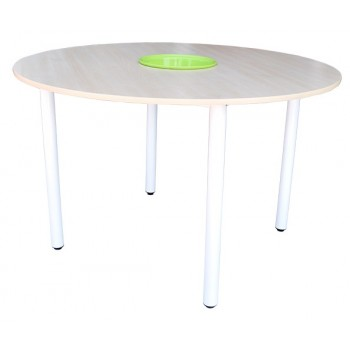 4' Round Table with Basket (H: 76cm)