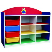 Multi-Coloured Manipulatives Storage Unit