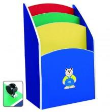 Multi-Coloured Movable Chart Storage Unit