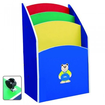 Multi-Coloured Movable Chart Storage Unit