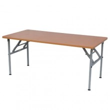 "Rectangular Table with Foldable Legs (H: 20"")"