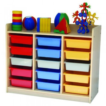 15 Trays Manipulative Storage Unit