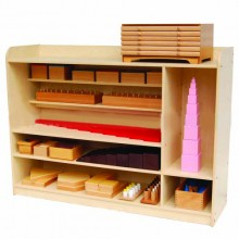 Montessori Sensorial Shelf (Wood)