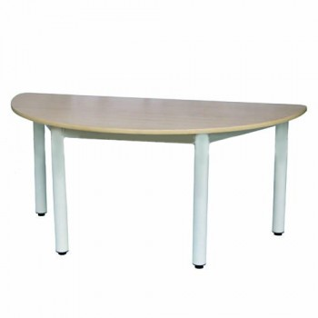 Semi-Round Table (Wood)