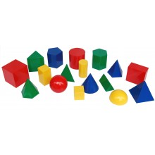 Giant Geometric Shapes (17 pcs)