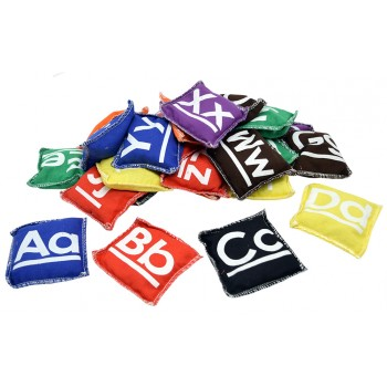 9cm Alphabet Bean Bags (26/set)