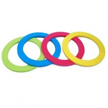 "6 1/2""Foam Rings (4 colours/set)"