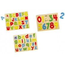 Alphabet & Numerical Puzzle (Set of 3)