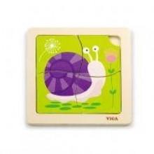 Handy Flat Puzzle - Snail