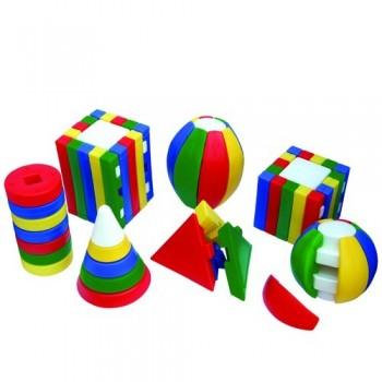 Geometric Blocks (73 pcs)